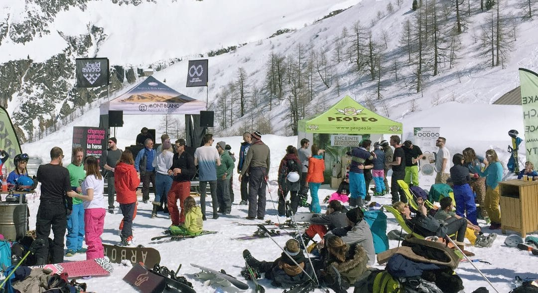 Chamonix Unlimited Festival : DJ set, jeu et grosse ambiance by PEOPEO