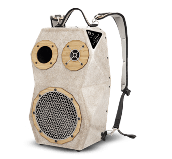 enceinte puissante nomade voodoo boombox